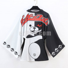 New! Danganronpa Monobear / Monokuma Stylish Cloak Clothing